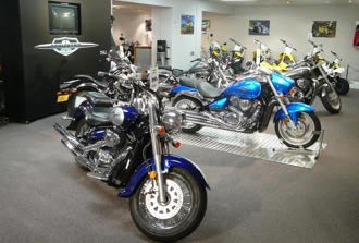 Jeff Marshall Motorcycles Showroom